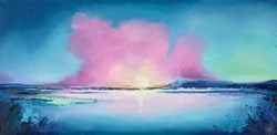Harbour Sundown III by Anna Gammans -  sized 39x20 inches. Available from Whitewall Galleries